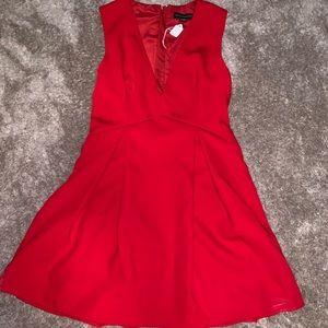 Red stylestalker mini dress